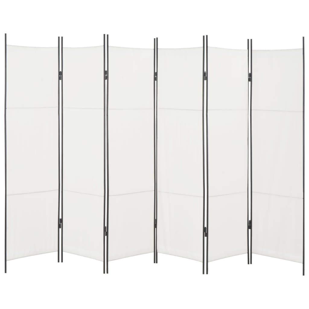 Disfruta Tus Compras con Biombo de 6 Paneles Blanco 300x180 cm: Amazon.es: Hogar