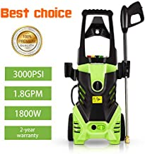 Homdox 3000 PSI Electric Pressure Washer, 1800W Power Washer, High Pressure Washer, Professional Washer Cleaner Machine with 5 Interchangeable Nozzles,HM5231