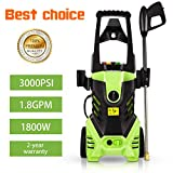Best Pressure Washers - Homdox 3000 PSI Electric Pressure Washer, 1800W Power Review