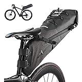 Bikepacking Bags Bike Bicycle Saddle Bag Full Waterproof Large Capacity 14L, Bike Pannier Bags Bicycle Tail Bag Cycling Accessories Mountain Road Bicycle Back Seat Rear Pack