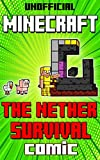 (Unofficial) Minecraft Comic Book: The Nether Survival Comic