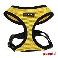 puppiapuppia正規販売店 pdcf-ac30胴輪 ソフトメッシュハーネス サイズ XS S M L XS,YELLOW