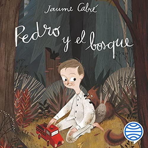 Diseño de la portada del título Pedro y el bosque