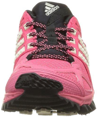 adidas Kanadia TR 6 W F32268 - Zapatos para correr para mujer, rosa - Pink (Bahia Pink S14 / Chalk 2 / Black 1), 41 1/3