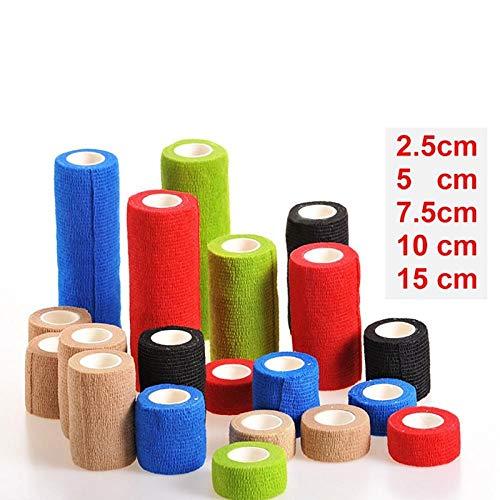 5 rollen 4,5 m Hansaplast zelfklevende tape Zelfklevend niet-geweven verband Atletische tape Stretch Wrap Enkel