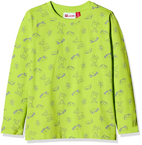 Lego Wear Lwtommas T-Shirt À Manches Longues, Vert (Lime Green 810), 98 Bébé garçon