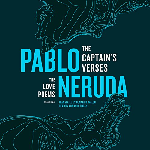 The Captain's Verses audiobook cover art