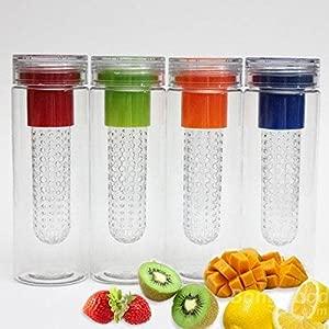 Bazaar Fruit Infusing Water Bottle Sports Health Lemon Juice Bottle