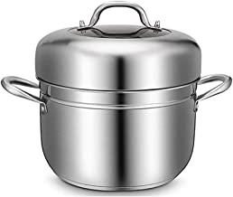 DIAOD Stainless Steel Steamer,Steamer Basket Rack Set for Instant Pot Accessories,Steam Baskets, Egg Steaming Holder Rack ...