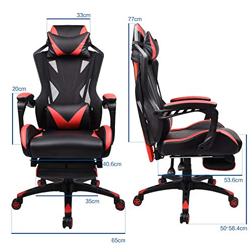 ELECWISH Video Game Chair High-Back Large Size Ergonomic Chair