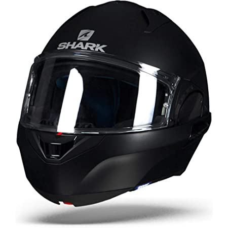 Schwarz//Rot Shark Motorradhelm EVO-ONE 2 LITHION DUAL KUR XL