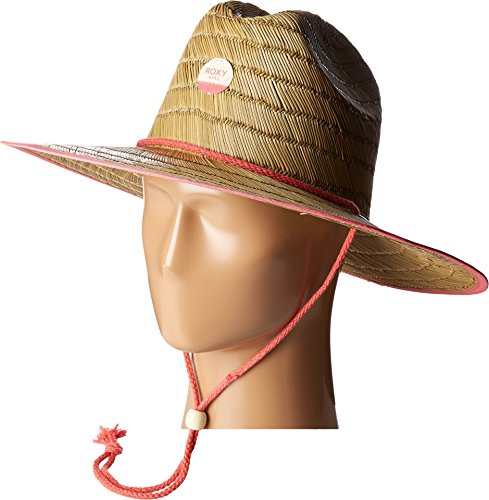 Roxy Girls Roxy Tomboy - Straw Sun Hat - Girls 7-14 - One Size - Pink Spiced Coral One Size