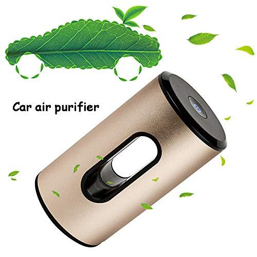 Mago luchtreiniger HEPA en koolstoffilter, laag decibel met nieuwe ionentechnologie, verwijdert stof, vuil, geur, allergen voor auto en kleine kamers.