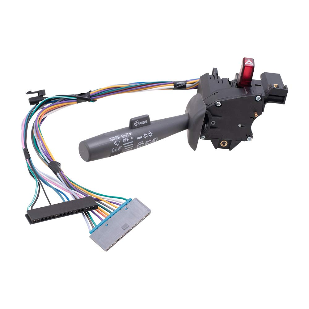 Brock Replacement Turn Signal Switch Ranking TOP6 with Stalk Sales for sale Gray Compatible