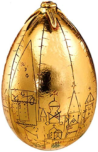 Hogwarts Harry Potter - Réplica de huevo dorado - Túnez trimágico