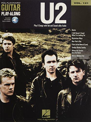 Guitar Play-Along Volume 121: U2 (Book/Online Audio)