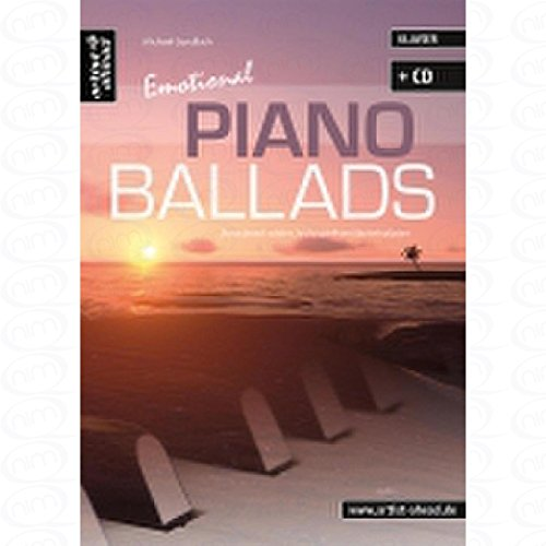 Emotional Piano Ballads - arrangiert für Klavier - mit CD [Noten/Sheetmusic] Komponist : GUNDLACH MICHAEL