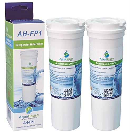 2x AH-FP1 kompatibel für Fisher & Paykel 836848 Wasserfilter, 836860, 67003662 Kühlschrank Wasserfilter