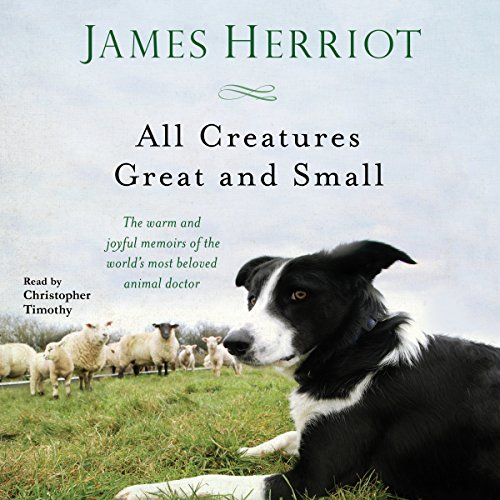 All Creatures Great and Small audiobook cover art