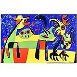 zkpzk Pintura Graffiti Joan Mirar Carteles Arte De Pared Moderno Imágenes Impresiones Pintura En Lie...