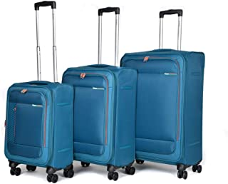 3 Piece Luggage Set (Soft Light Weight Suitcase with Spinner Wheels) 20