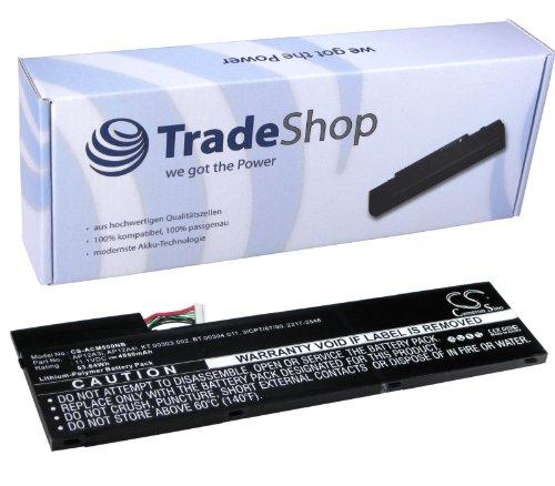 High Capacity Li-Polymer Battery, 10.8 V/11.1 V/4850 mAh for Acer Aspire M5 Timeline Ultra M5 M5-481T M5-481TG M5-481PT M5-581T M5-481 M5-481TG-6814 M5-581 U