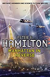 Cover of Manhattan in Reverse by Peter F. Hamilton