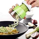 YUKAKI Légumes Coupe-Spirale, Coupe-Spaghetti de courgettes, Coupe-Spirale Coupe-légumes à la...