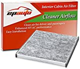 1966 Ford Mustang Air Filters & Components - EPAuto CP132 (CF10132) Replacement for Premium Cabin Air Filter includes Activated Carbon