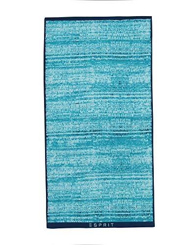 ESPRIT badstof Mivu (jeans/turquoise/blauw, 70x140)