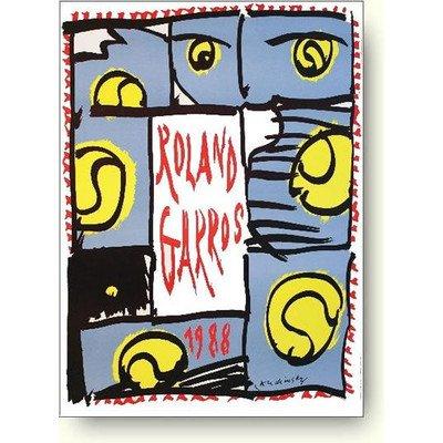 ピエール アレシンスキー ローラン ギャロス(全仏オープン) 1988年 アートポスターの詳細を見る