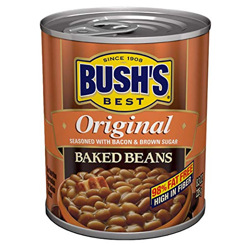 Bush's Best Baked Beans Original Seasoned with Bacon & Brown...