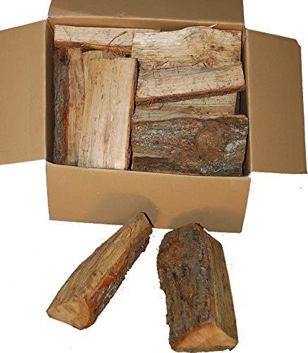 Landree® EICHE 18 Kg Kaminholz, Brennholz, Feuerholz, Grillholz, ofenfertig, ca30cm Scheitlänge - gut zu tragen