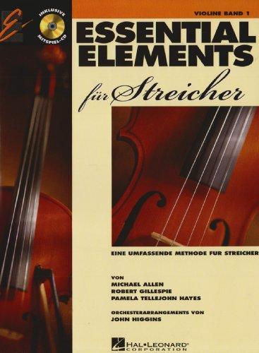 Essential Elements für Streicher, Violine, m. Audio-CD