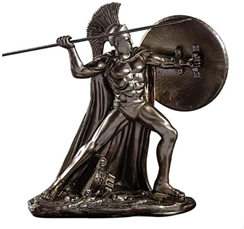 Decoraciones para La Sala De Estar, El Dios Griego De La Guerra Escultura Características De Office Esparta Ajedrez En Arte Y Artesanías De Resina