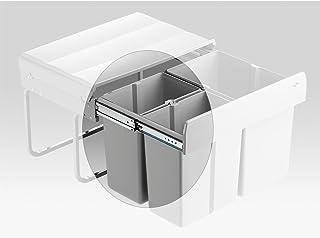 WESCO M7551107-2 Ersatzeimer 15 Liter anthrazit für DOUBLE SHORTY plus Automat