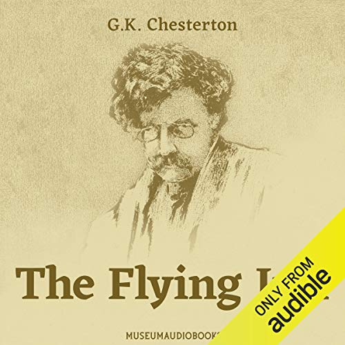 The Flying Inn audiobook cover art