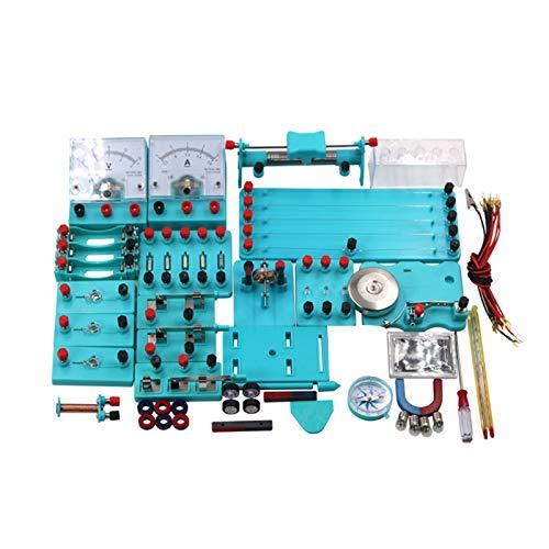 KingbeefLIU Kit de circuito eléctrico, kit de experimento de física educativa básica...