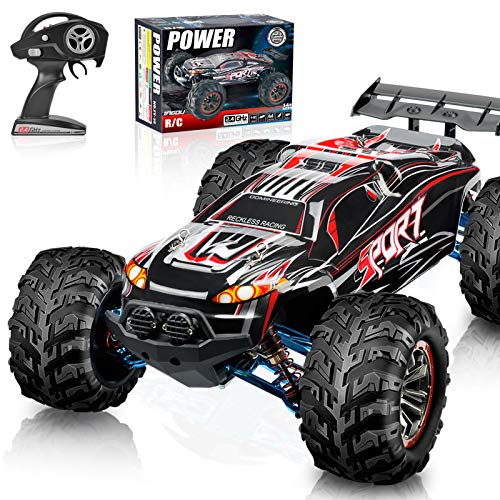 Review For Remote Control Truck 1 10 Scale Rc Truck Electric Vehicle Toy 4wd Off Road Rc Car Radio Monster Trucks For Kids And Adults