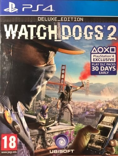 Watch_Dogs 2 - Deluxe_Edition (PS4 Exclusive) PS4 [Edizione: Regno Unito]