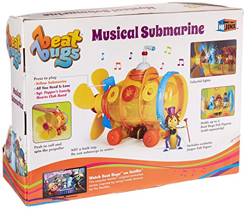 Beat Bugs Musical Submarine Action Figure Vehicle
