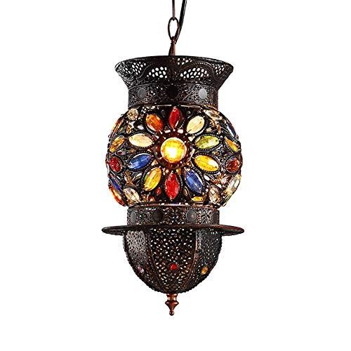 BOSSLV Lampes Murales de Lavage Lampes Murales Applique Lustre Bohème Diffuse Café Antique Fer Forgé Créatif