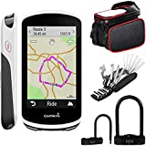 Garmin Edge 1030 GPS Bicycle Computer (010-01758-00) with Deco Gear 6-in-1 Multifunctional Bike...