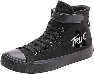 d6e00c9a Kerlana DJ Avicii Chaussures Hautes Loisir Chaussures à Lacets Populaire  ImprimÉEs Chaussures Homme Simple Chaussures Femme