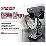 5 Speed - 8' Bench Mount Drill Press