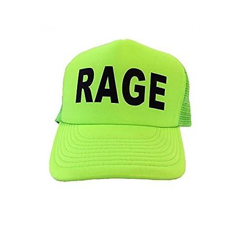 9f99c9a1a5636 Popular Rage Trucker Baseball Mesh Hat Adjustable Mainstream Fashion Trend  Cap