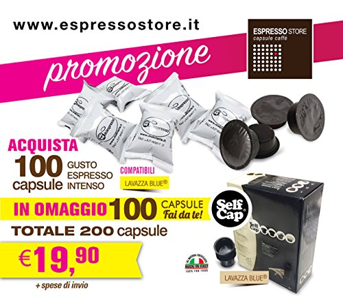 Mokiespresso 200 capsule Lavazza Blue compatibili