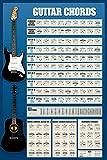 Educational - Gitarren Akkorde - Musikposter Gitarre -