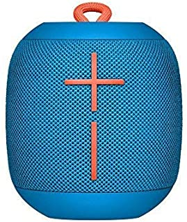 Ultimate Ears WONDERBOOM Super Portable Waterproof Bluetooth Speaker - Subzero Blue (Renewed)