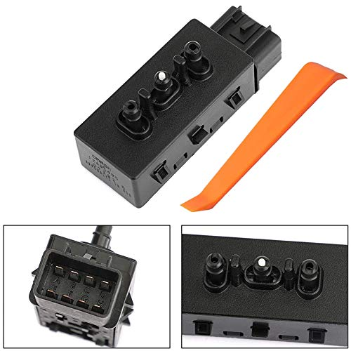 6-Way Driver Seat Adjustment Switch Replacement for 2004-2013 sliverado sierra yukon tahoe, Replaces OE 12451495